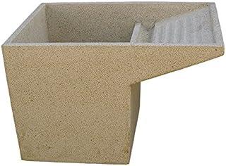 CATART Lavadero Pila Fregadero en hormigón-Piedra para Exterior o Interior 40X60X60cm.