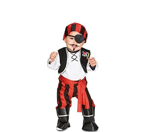 Fyasa Fyasa706479-T00 - Disfraz de Pirata para bebé (Talla pequeña)