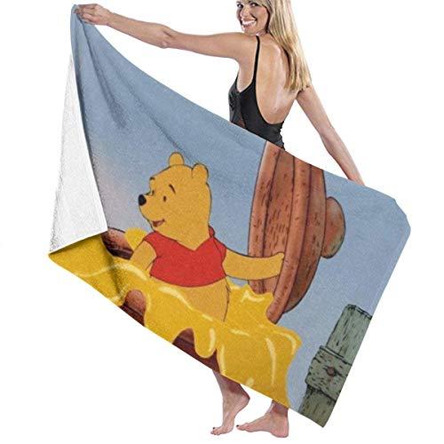 Suzanne Betty Winnie The Pooh - Toalla de playa (81 x 132 cm), diseño de Winnie the Pooh