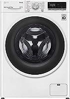 lg f4dt408aidd lavasciuga a carica frontale 8/5 kg, libera installazione, 1400 giri/min, classe a - lavatrice e asciugatrice con intelligenza artificiale e funzione vapore, 60 x 56 x 85 cm - bianco