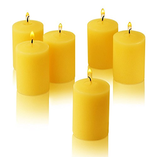 Citronella Votive Candles 15 Hour Burn Time - Pack of 36 - Made from High Scented Citronella for Outdoor/Indoor - Made in USA