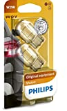 Philips 12065B2 - Lampadina con base in vetro W21W, 2 blister