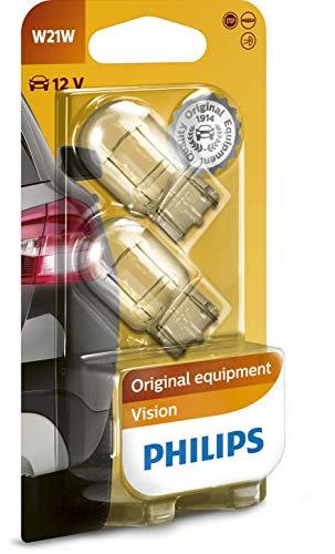 Philips 12065B2 Glassockellampe W21W, 2-er Set Blister