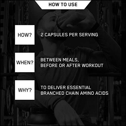 Optimum Nutrition BCAA 1000- 400 Kapseln , 1er Pack (1 x 400 g) - 4