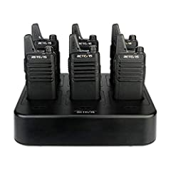 The two way radio is extremely compact and slim for business use; featured with 16 channels and rich features; FCC certificated ensure you use license free radio; needn't pay frequency annually 0-9 level voice activated transmit function allow real h...