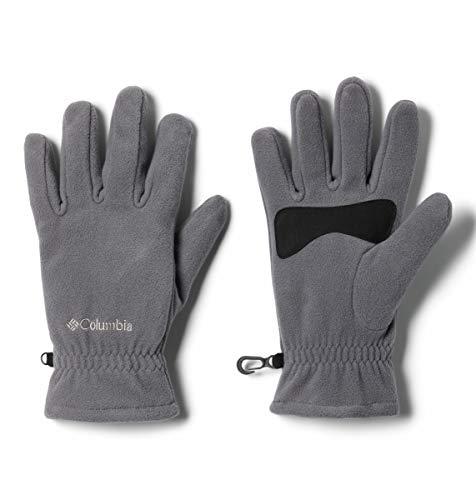 Columbia mens M Fast Trek cold weather gloves, Black, Medium US