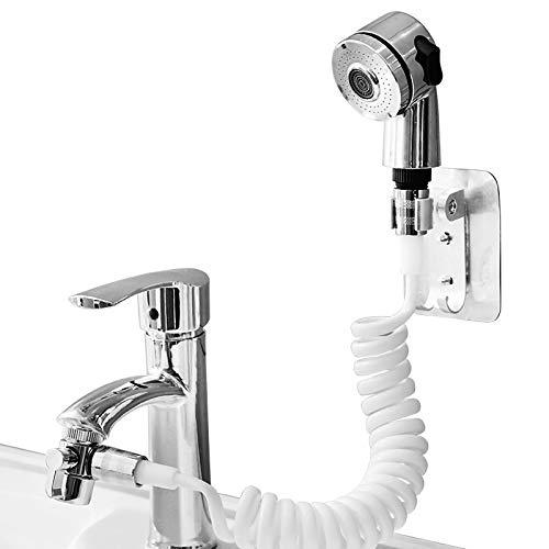 NCONCO Baño Durable Fregadero Grifo Pulverizador Simple Instalar Calidad Agua Grifo Extensión Boquilla