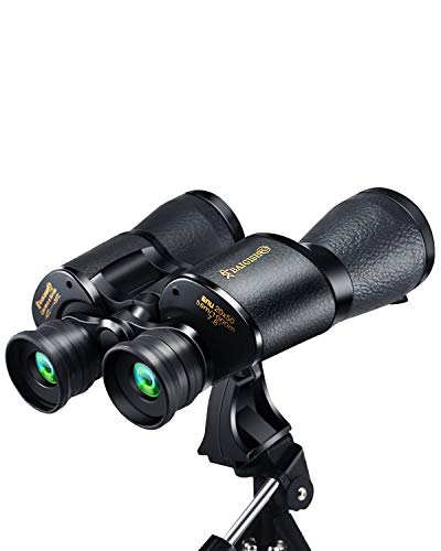 20x50 Roof Prism Binoculars for Adults, High Power HD Professional Binoculars for Bird Watching Travel Stargazing Hunting Concerts Sports-BAK4 Prism FMC Lens-with Strap Carrying Bag