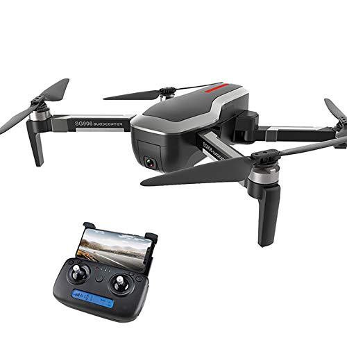 tyuiop Foldable FPV WiFi Drone with 120°Wide-Angle 4K HD Camera, Trajectory Flight Headless Mode One Key Return Home App Control