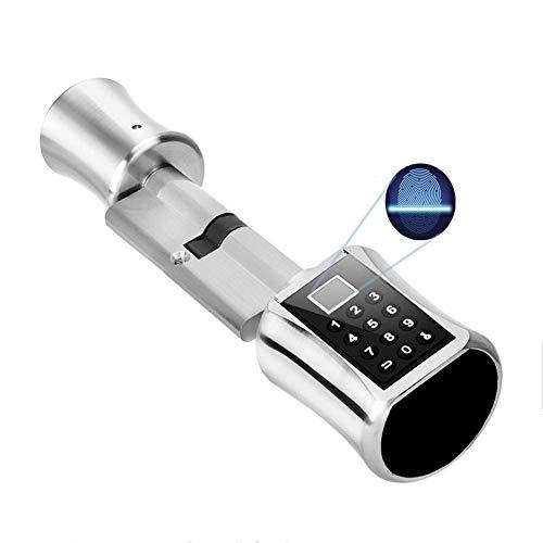 Serratura Intelligente Delle Impronte Digitali, Blocco con Password Codificata per la Sicurezza Domestica Kit Manopola Intelligente con Bloccaggio Automatico