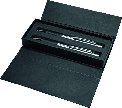 Senator S-066341003000 Schreibset Softstar Steel, Bleistift und Kugelschreiber, blau