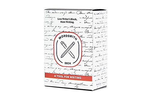 BestSelf WordSmith Deck — 100 Intellectually Stimulating Writing Prompts Designed to Inspire Journaling, Cure Writer's Block, Cultivate Creative Writing and Sharpen Writing Skills