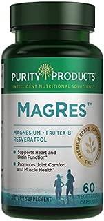 Purity Products - MagRes Formula Magnesium + Resveratrol 60 capsules