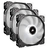 Corsair AF120 LED Low Noise Cooling Fan Triple Pack - White Cooling