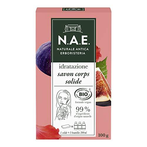 N.A.E. - Savon Solide Hydratant Certifié Bio - Formule Vegan - 100 g