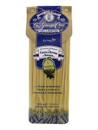 Artigiano Pastaio Formato Tagliatelle N.52 Cavalier Giuseppe Cocco Fara San Martino Abruzzo - 500 g