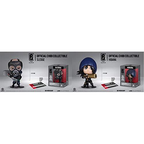 Ubisoft Spain - Figurina Six Collection Series 2 Sledge + - Figurina Six Collection Series 2 Hibana