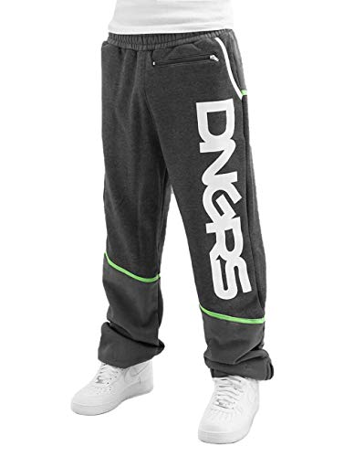 Dangerous DNGRS Männer Jogginghose Crosshair Baggy Grün S