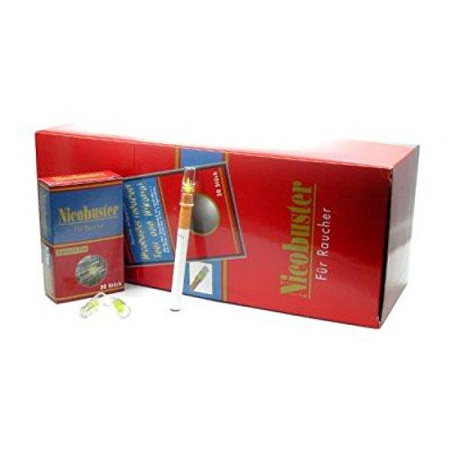 Nicobuster Zigarettenfilter (30x30 Stück) 900 Microfilter reduzierte Teer Nikotin