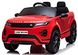 go store choice Kids Ride On Toys Land Rover 12V Battery Powered Ride On Electric Car, with MP3, LED Lights, 2.4G Parental Remote Control, Plastic seat, for Boys and Girls 1-5 Years Old