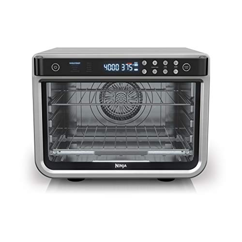 Ninja DT201C, Foodi 10-in-1 XL Pro Air Fry Oven, Stainless steel, 1800W (Canadian version)