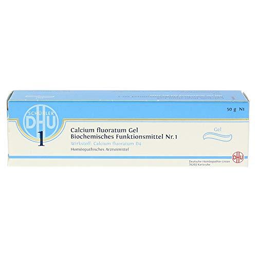 DHU Schüßler-Salze Gel Nr. 1 Calcium fluoratum D4, 50 g
