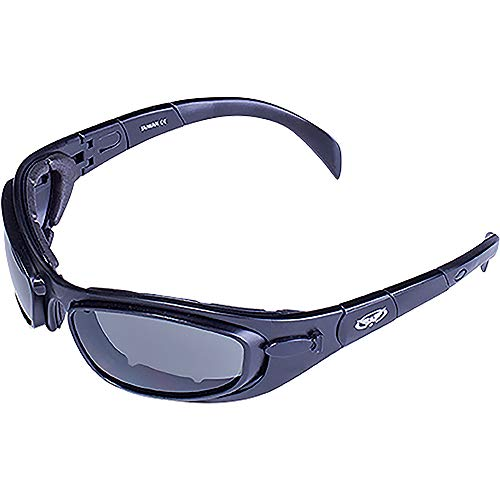Global Vision Boss Goggles And Lens Kit (Nero, Grigio, Giallo Chiaro/Telaio Lente)