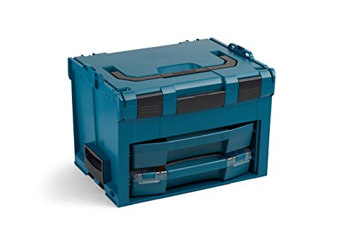 Bosch Sortimo LS BOXX 306 | Professioneller Werkzeugkoffer leer mit i-Boxx 72 C3 und LS-Schublade 72 | Limited Edition | Werkzeugkiste leer Kunststoff