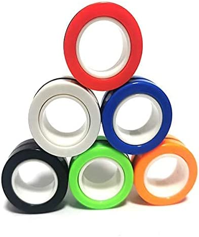 AHEYEFinger Magnetic Ring Now free online shopping shipping Magnet Toy Toys Fingertip