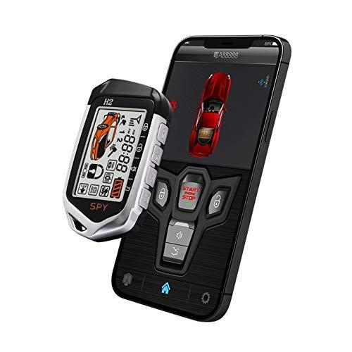 Yxwei Inicio Sin Llave El Motor Remoto Inicio con El Teléfono Smart Control Central Bloqueo De 2 Vías Alarma De Coche con Autostart One Button Push Start