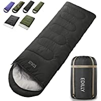 EDILLY Camping 3-4 Seasons Sleeping Bags for Adults and Kids