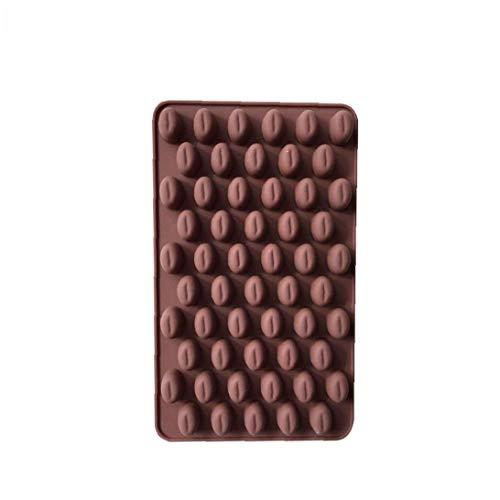 Ruijanjy Kaffee Korn Shaped EIS/Kuchen/Brot/Backformen Schimmelpilze Silikon Non-Stick Kuchen Gelegentliche Farbe