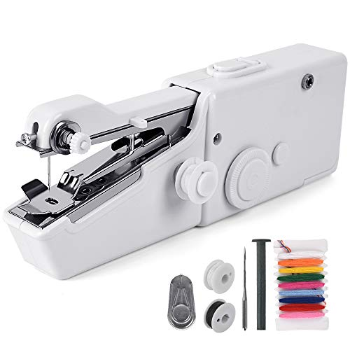 Purchase Yueetc Handheld Sewing Machine, Mini Portable Electric Sewing Machine,Quick Stitch for Home...