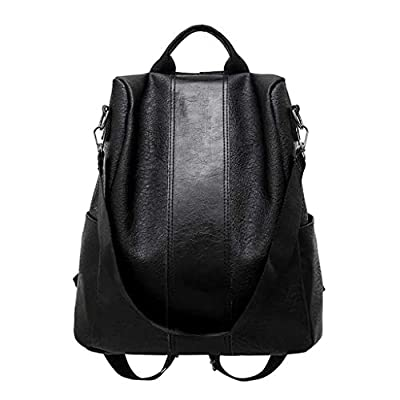 Woman Anti-Theft Backpack Bag Casual Wild Soft ...