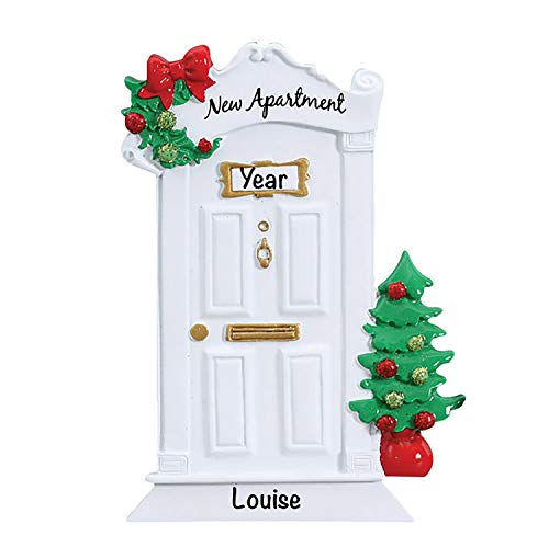 New Apartment Ornament 2020 Christmas Ornaments – Charming Personalized Christmas Ornaments 2020 – Premium Polyresin Our First Home Ornament 2020 – Durable and Lightweight