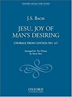 Jesu, Joy of Man's Desiring: Duet for Two Pianos