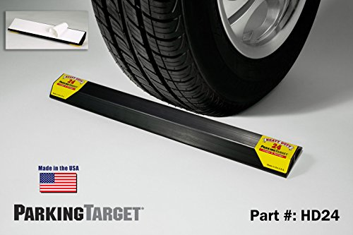 PARKING TARGET HD24: Heavy Duty ParkingTarget - Parking Aid Protects Car and Garage Walls - Easy to Install – Peel n Stick - Only 1 Needed per Vehicle – Engineered to Outlast your Vehicle - Great Gift