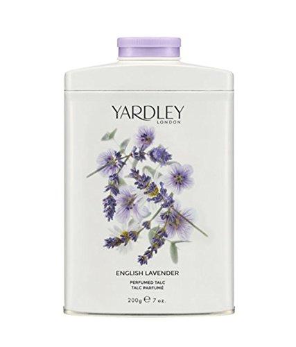 Yardley of London English Lavender Perfumed Talc, 7 Oz, Made in England - NEW FORMULA
