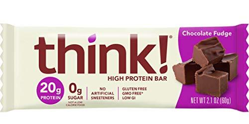 ThinkThin Protein Bar, Gluten Free Chocolate Fudge, 10 Count