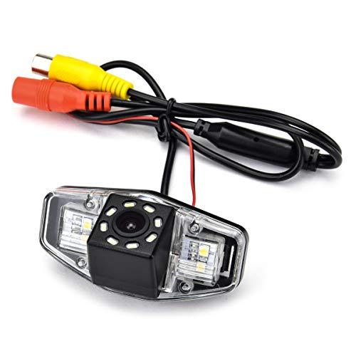 aSATAH 8 LED Car Rear View Camera f…