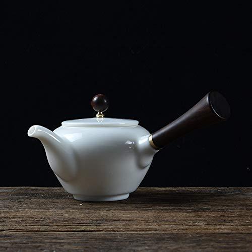 Hmg Elegante Zen Jade Porcelana Kung Fu Juego de té de la Tetera