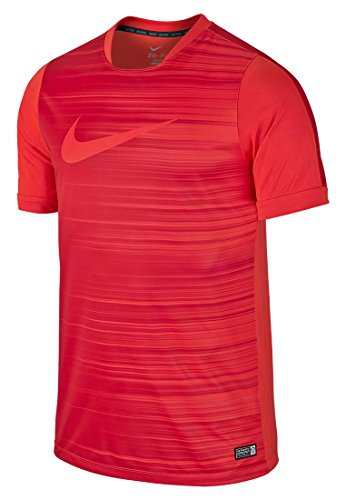 Nike Manches Courtes GPX Flash Top II L Darung Red/Gym Red/Black/Daring Red