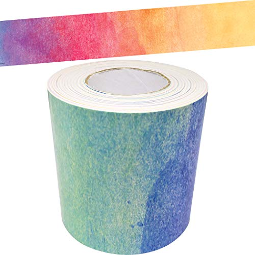 Teacher Created Resources Straight Rolled Trim Border/Trimmer Set, Multicolor
