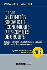 Le droit des comités sociaux et économiques et des comités de groupe (CSE) de Maurice Cohen