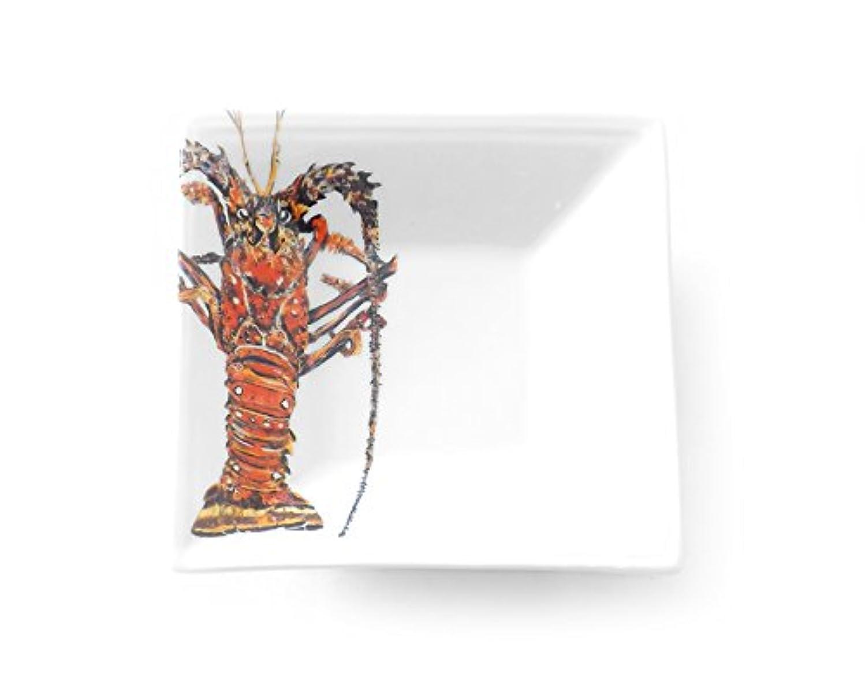Kim Rody Creations Dinnerware Tidbit Dish Kitchen Lobster, 5
