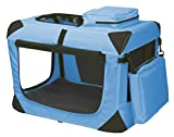 portable deluxe soft crate for small pet