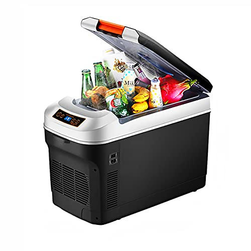 Refrigeradores pequeños para dormitorios Refrigeradores de automóviles Refrigerador de 12 voltios Congelador portátil Refrigerador de automóviles para conducción de camiones, paseos en bote, Camping