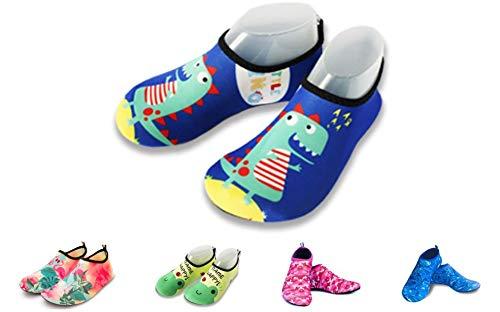 Mesit Calcetines de Piscina Infantil (Azul, 24-25)