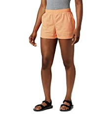 Advanced technology: Columbia women's sandy river short features our signature sun protection fabric that provides UPF 30 for protection against Harmful UVA and UVA rays linked to long-term skin damage. Handy features: these women's casual shorts fea...