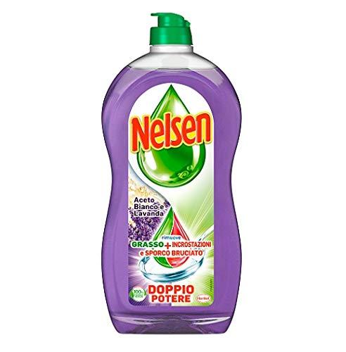 Nelsen Blanco Vinagre y Lavanda Lavavajillas Detergente para lavavajillas 900ML